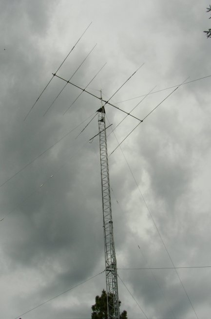 KJ7IZ tower/antenna